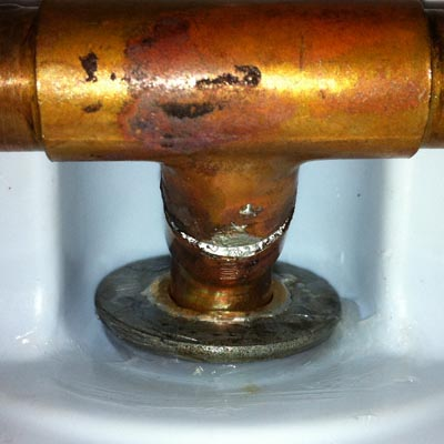 Copper Pipe Repair Leaks